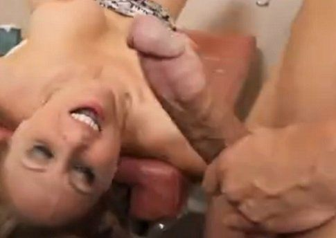 Julia Treats His Big Cock Patient with Her Pussy
