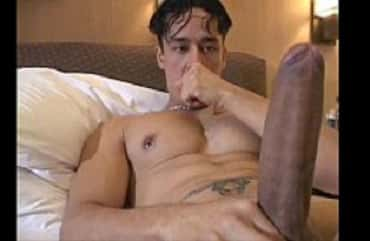 Brazilian Monster Cock Rafael Alencar In A Hot Wank