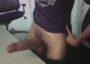 Guy With Unbelievable And Surreal Cock In Solo Video